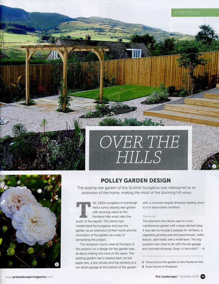 Pro Landscaper Magazine 2015