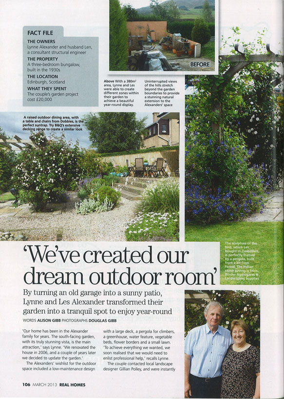 Real Homes – March 2013