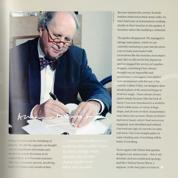 Alexander Mccall Smith CBE, Charity Gala Preview