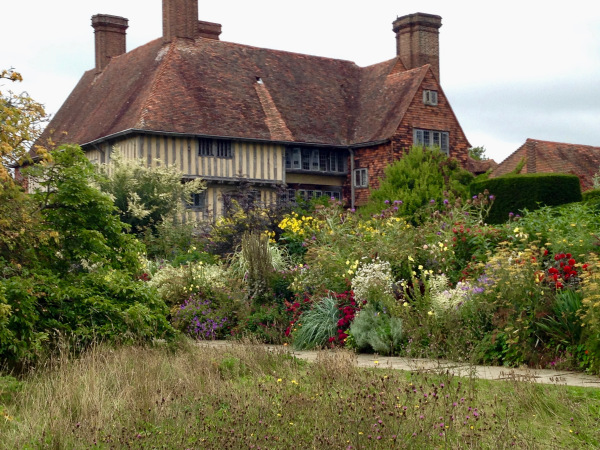 part of the Long Border at Gt Dixter