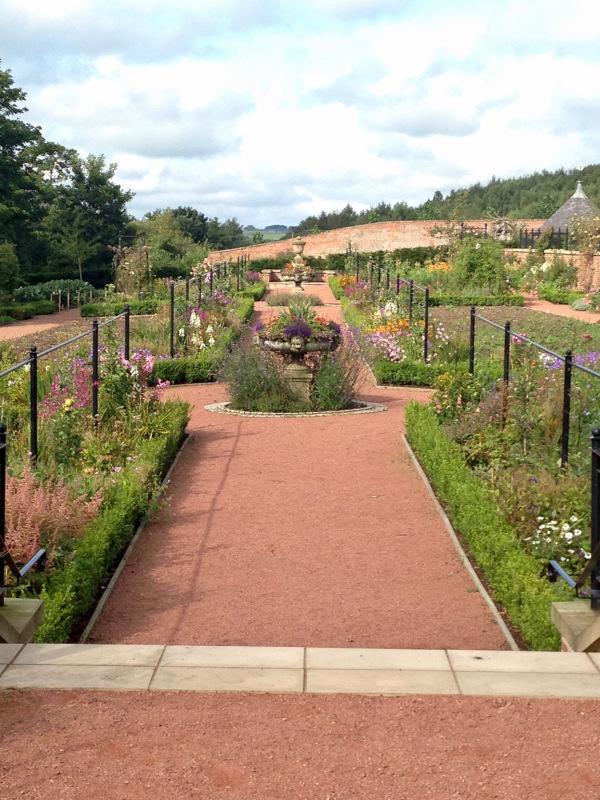 walled garden at Dumfries House