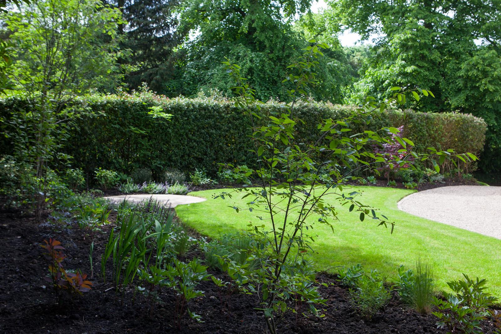 A garden in the Grange