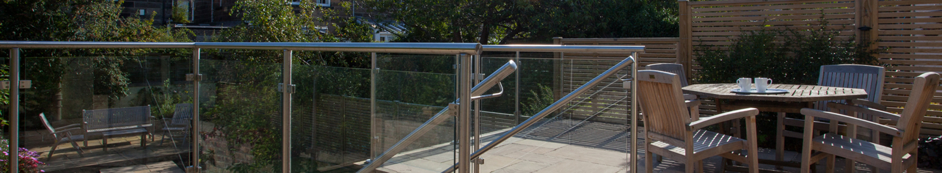 What our clients say - contemporary terrace in Edinburgh